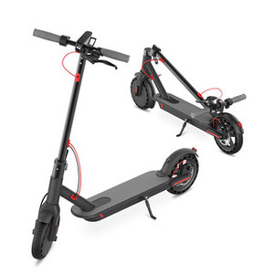 350W Rechargeable Lithium Electric Scooter